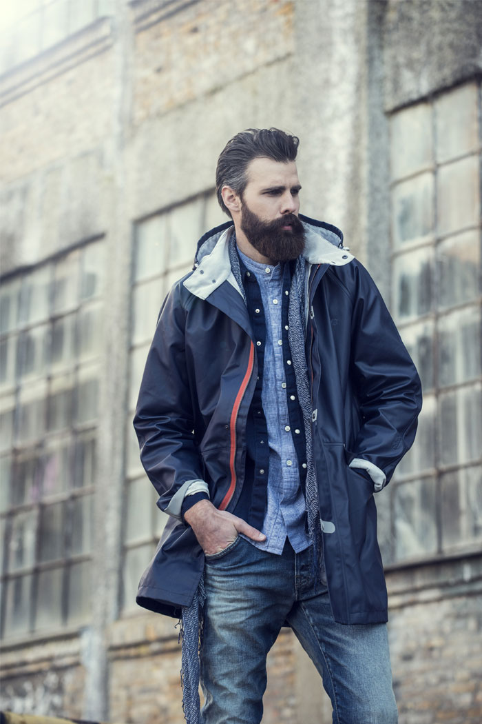 Raincoat stylish for men