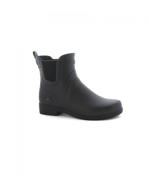 Viking Freya Low Cut Gumboot Womens Black