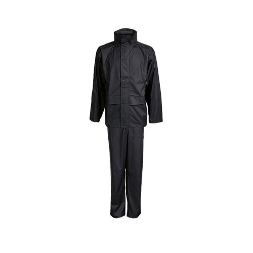 Elka Adult Rain Set Black