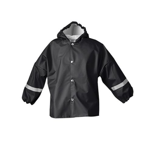 Elka Rain Jacket Children Black