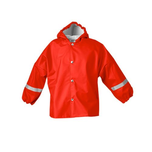 Elka Rain Jacket Kids Red