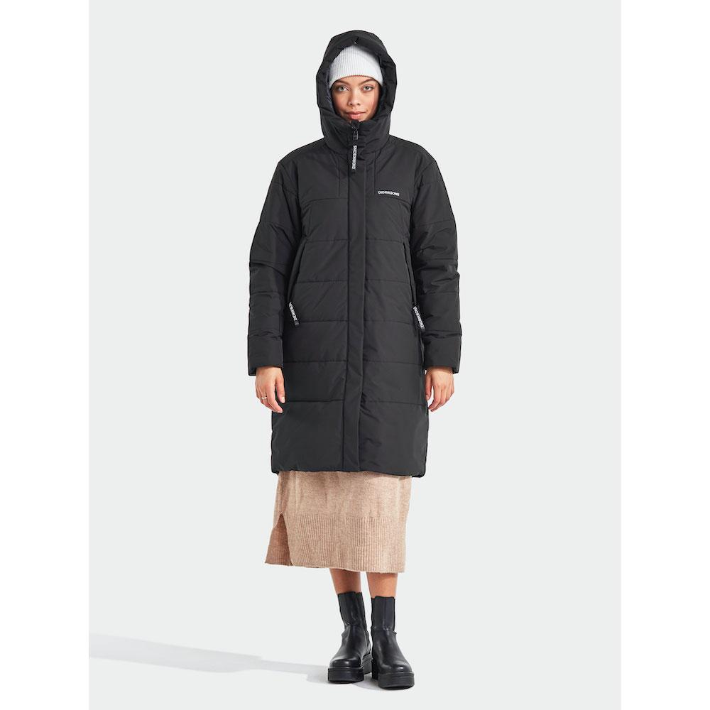 Didriksons Tindra Puff Parka Women black 2020 Jacket