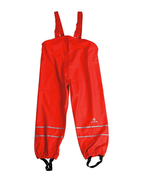 Elka bib pants red